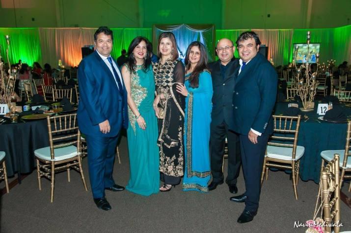 Puneet Ghei, Geeta Anand, Manisha Ghei, Seema Vohra and Vipul Anand