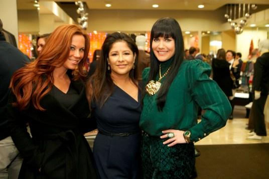 Chris Jobe, Lucy Corona and Tiffany Halik
