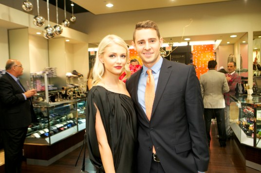 Jessica Kirkland and Chandler Hoffman