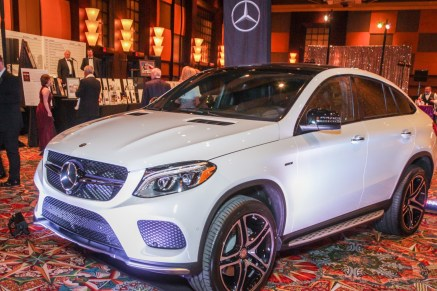 Main auction item, Mercedes-Benz 450 GLE AMG Coupe Photo by Kim Coffman