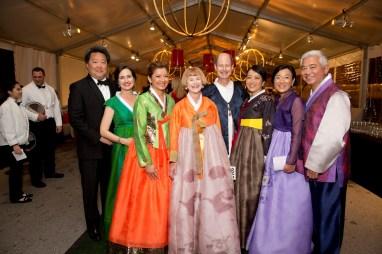 Alexander and Lou Ann Chae, Bonna Kol, Nancy C. Allen, Edward R. Allen III and Chinhui Juhn, Susan and Michael Jhin
