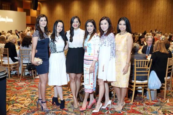 Naureen Malik, Bridgitte Lee, Dr. Sippi Khurana, Mandy Kao and Payal Channa