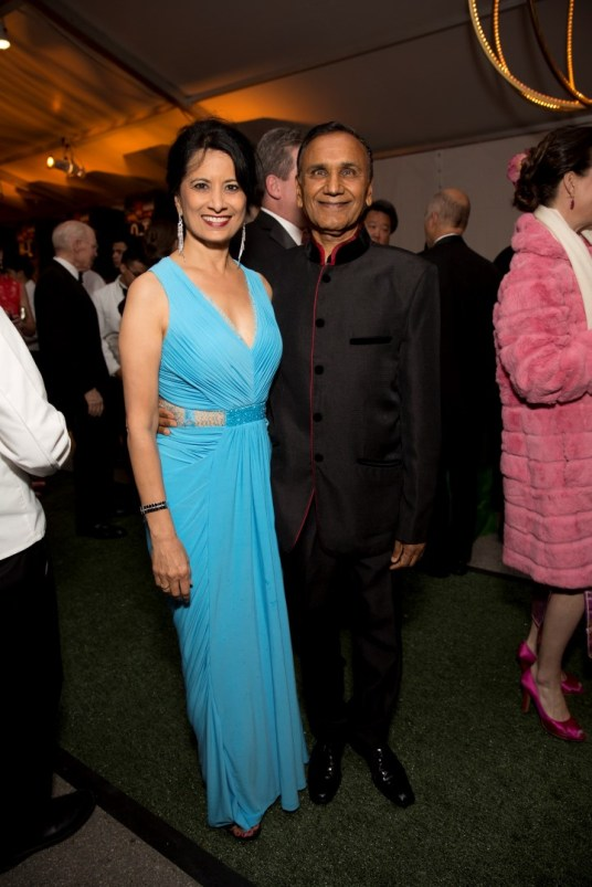 Renu and Suresh Khator