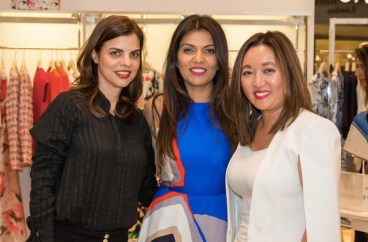 Teresa Ardenghy, Mona Khan, Susan Newell