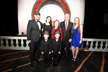 The Boudwin Family: Robert and Amy Boudwin, Donna and Paul Boudwin, Ashley Griffin, Jack and Luke Boudwin