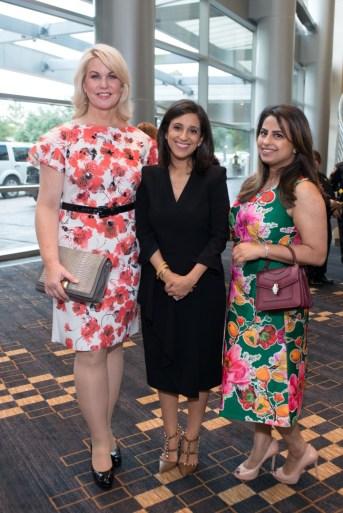 Stephanie Von Stein, Crime Stoppers Exec. Director Rania Mankarious, Ruchi Mukherjee