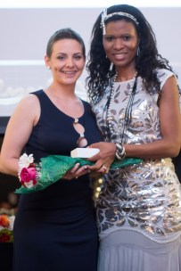 Honoree Lynnsey Tirey with Dr. Anna Alaniz