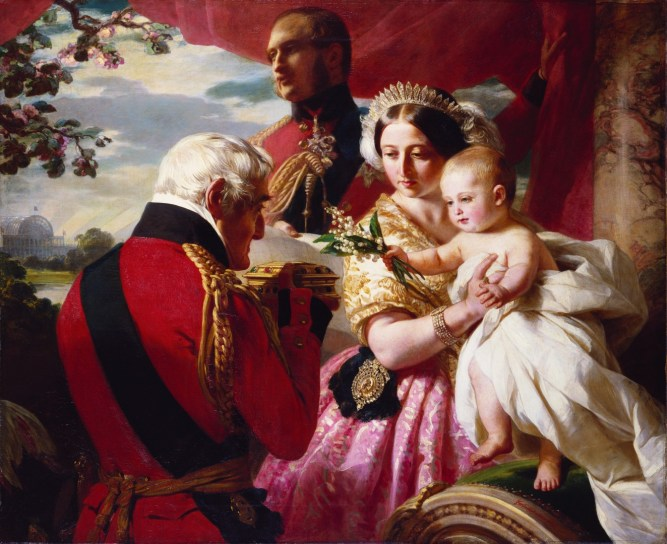 Franz X. Winterhalter, The First of May, 1851, oil on canvas, the Royal Collection, RCIN 406995, Royal Collection Trust. © Her Majesty Queen Elizabeth II 2016
