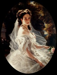Franz X. Winterhalter, Pauline Sándor, Princess Metternich, 1860, oil on canvas, private collection.
