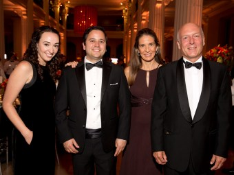 Gabriel Salinas, Christian Garcia, Daniela and Manolo Sanchez; Photo by Jenny Antill