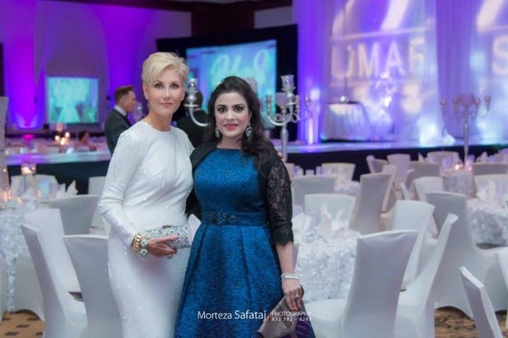 Jerri Moore and Maha Rasheed Khan