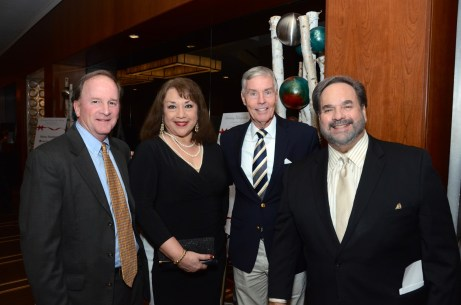 Council Member Dave Martin, Corinne Vela, Council Member Jack Christie, Lee Vela