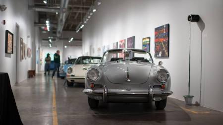 Classic cars & Art Spring Street Studios