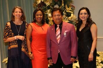 Dr. Rebecca Richards-Kortum, Sharron Melton, Ash Shah, Asha Dhume