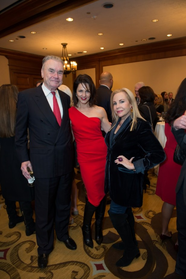 Gordon Bethune; Jessica Rossman; Carolyn Farb; Photo by Emile C. Browne