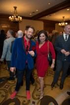 Jeff Shell; Debbie Festari; Photo by Emile C. Browne