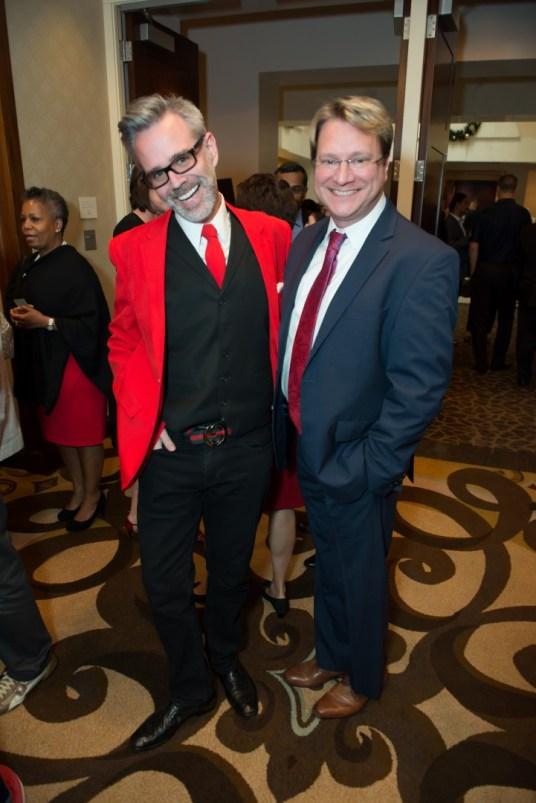 Michael Pearce; Matt Burrus; Photo by Emile C. Browne