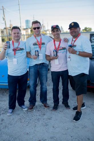 Rudy Mancinas, Michael Meldrum, Antonio Kewage, Michael Meldrum Organizers