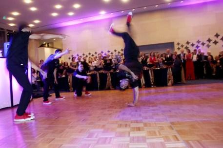 Fly Dance Company performing at Ars Lyrica Houston Bachanalia NYE - Photo by Pin Lim