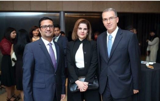 Khaled Radi and Mirna Chaanine