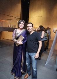 Waheeda Kara and Sandeep Das