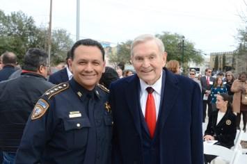 Harris County Sheriff Ed Gonzalez, Dave Ward
