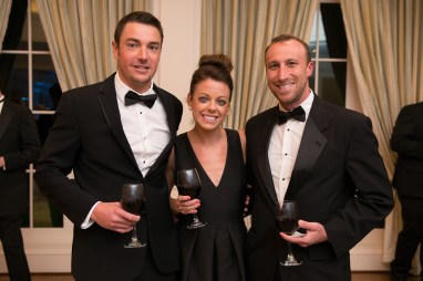 Mark Barr; Sara Hudgens; Chris McClendon; Photo by Michelle Watson