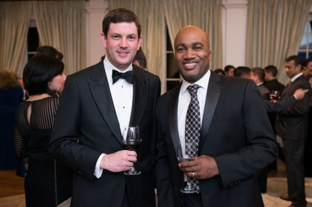 Steve Smith; Kai Jones; Photo by Michelle Watson