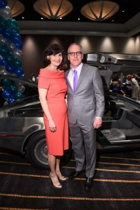 Denise Castillo-Rhodes (executive vice president and chief financial officer of TMC) and husband Robert Sergesketter