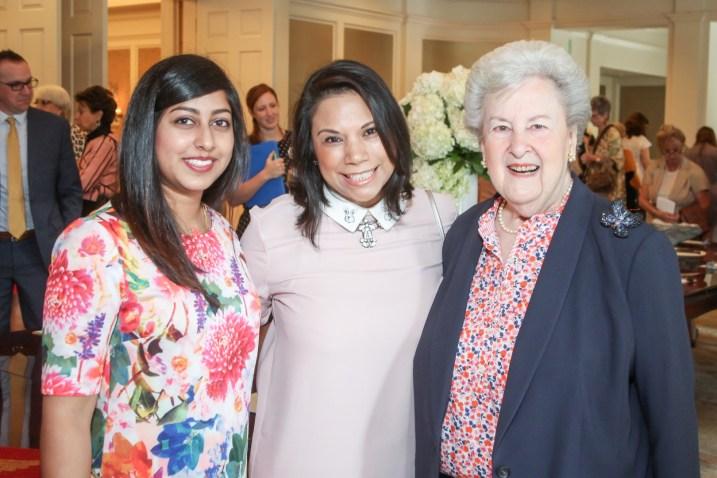 Jayni Karsan, Yvonne Garcia, Geri Hooks