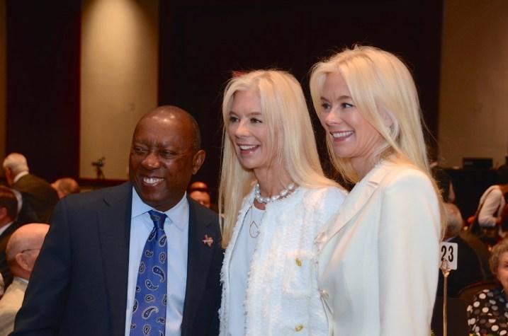 Mayor Sylvester Turner, Tama Lundquist, Tena Faust