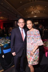 Rice University President Dr. David Leebron and Y. Ping Sun