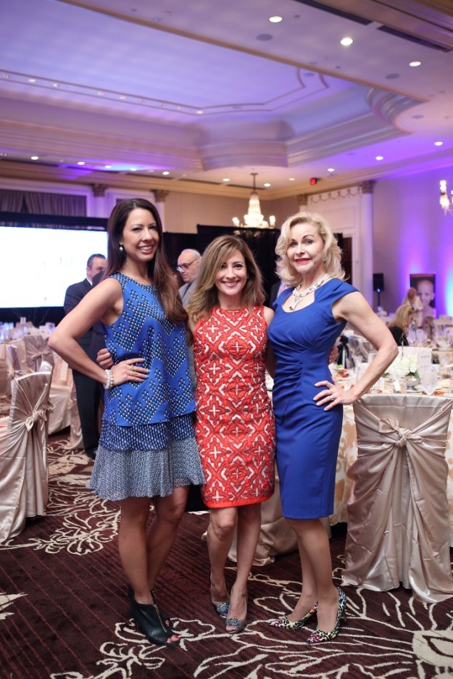 Anika Jackson, Dina Winkler and Dana Kervin