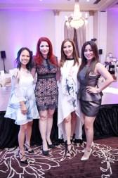 Nha Khanh, Yasmine Haddad, Mandy Kao and Gina Li