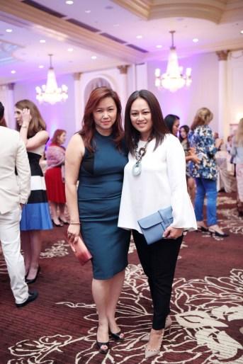 Tammy Tran Nguyen with friend