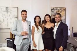 Arpan Gupta, Sapna Patel, Naureen and Ahmad Malik