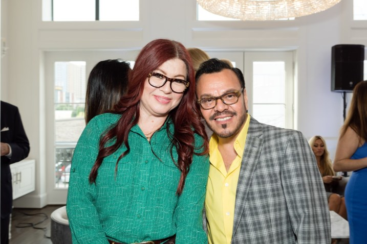 Laura Olivares and Joe Omar
