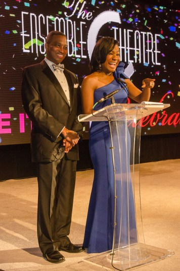 The Emcees for the Evening