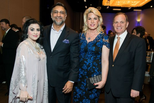 Maha Khan, Omar Saeed Khan, Stephanie Von Stein, Mark Schusterman