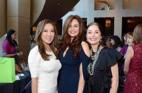 Mandy Kao, Brigitte Kalai, Rebecca Brinkley