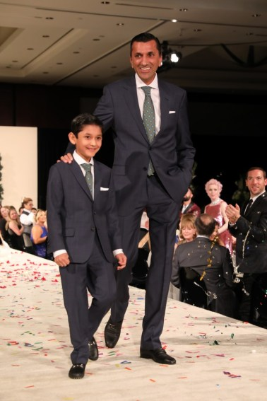 Ajay Khurana with his son Shaan at Festari for Men Una Notte In Italia