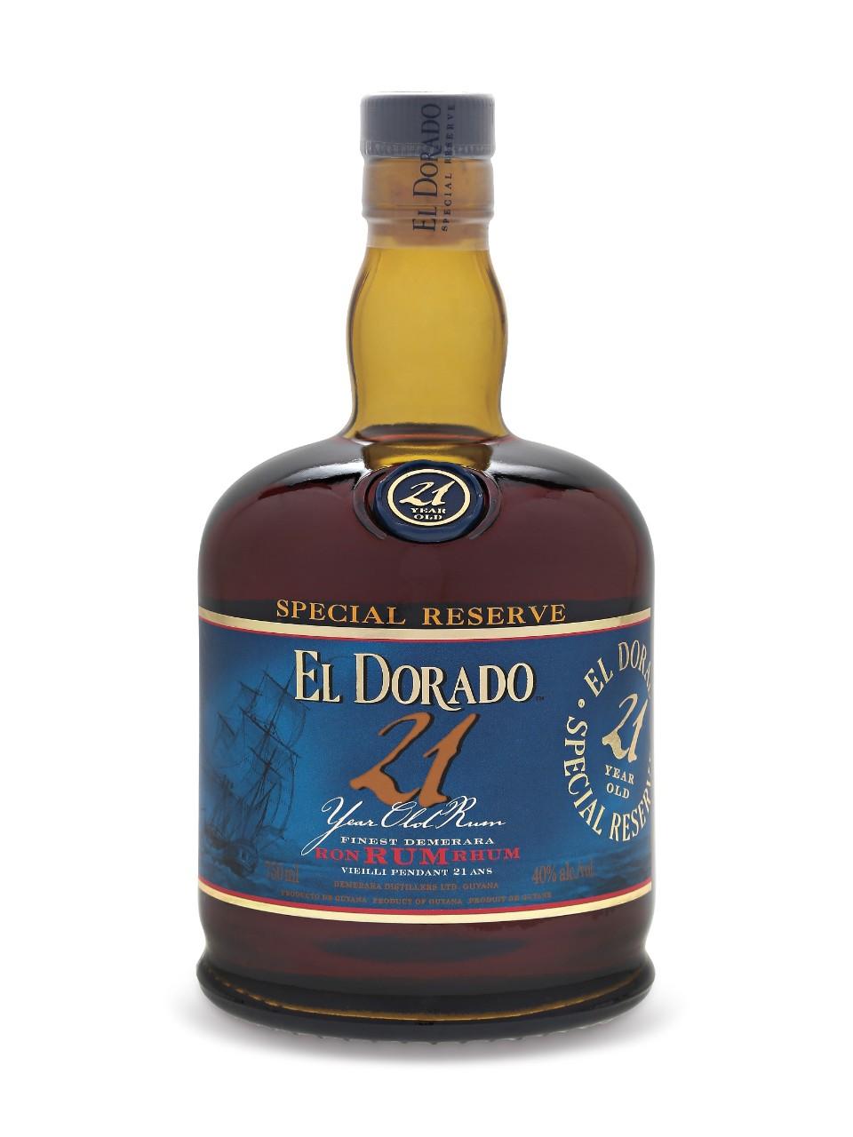 El Dorado 21 Year Old Rum Lcbo