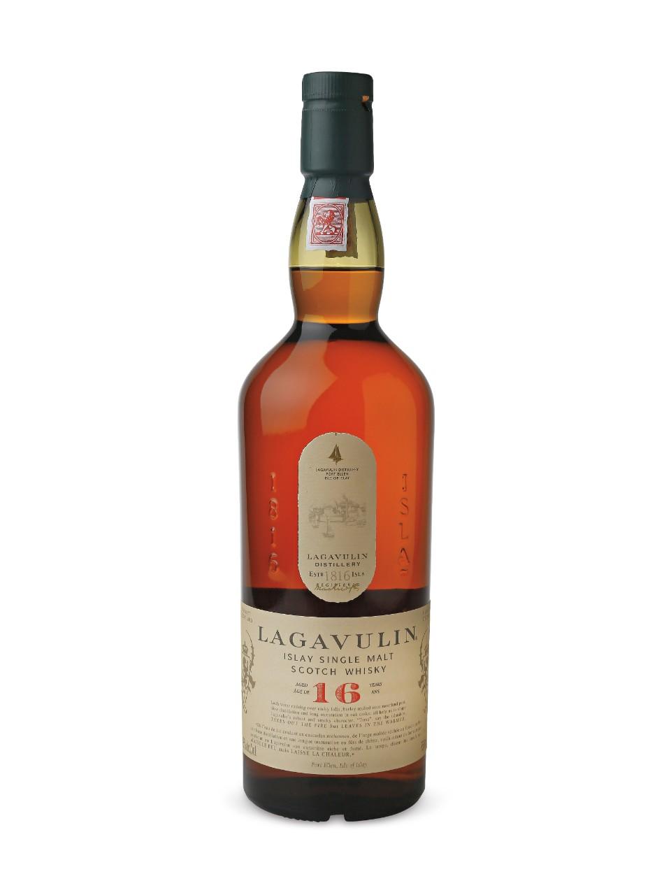 Lagavulin 16 Year Old Islay Single Malt Scotch Whisky Lcbo