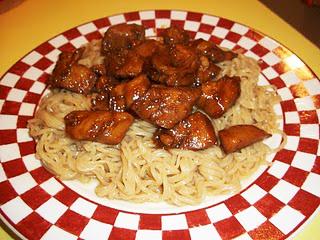 Lark's Recipe of the Week: Yoshida Chicken and Top Ramen Noodles
