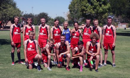 Cross country team competes