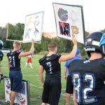 Football signboards
