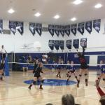 Lady Lynx Win Road Matches at Needles