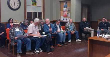 With Pot on Agenda, Full House at Council Meeting