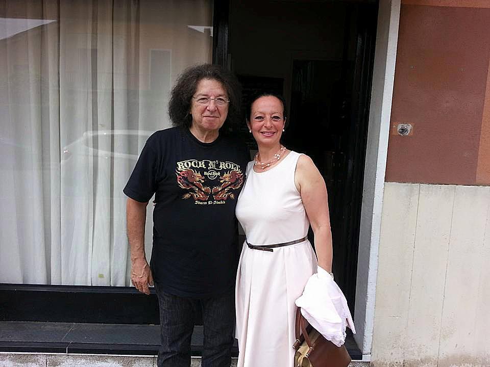 Con Alberto Radius