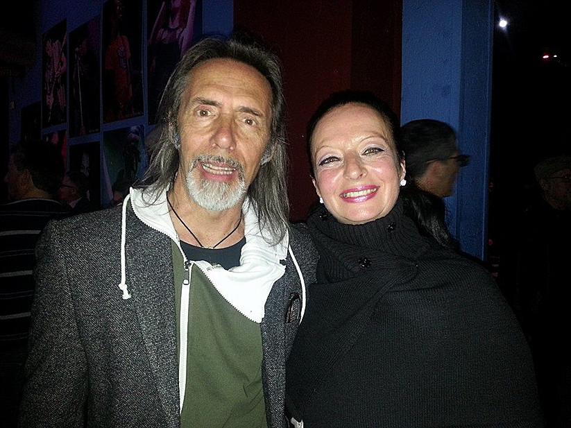 Con Marco Ferradini